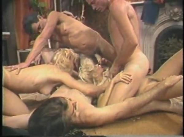 Ретро оргия с Ниной Хартли и Жаклин